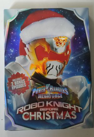 Power Rangers Robo Knight Before Christmas DVD for Sale in Potomac Falls, VA