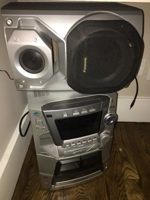 Panasonic Speakers - Great Condition; Model #SA-AK66 for Sale in New York, NY