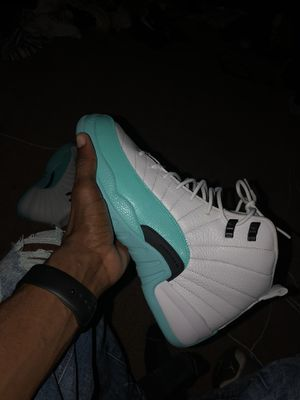 Air Jordan 12 aqua 9.5y for Sale in Silver Spring, MD