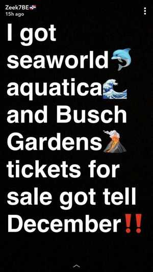 tickets‼️‼️‼️‼️ for Sale in Orlando, FL
