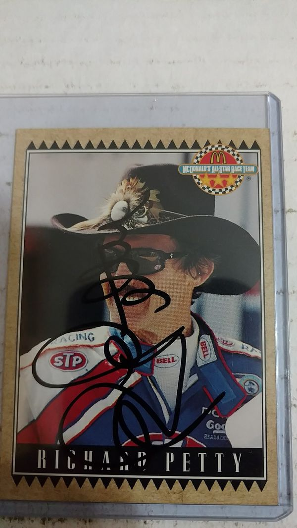 8874fcbab78 Richard Petty Autograph card for Sale in Jacksonville