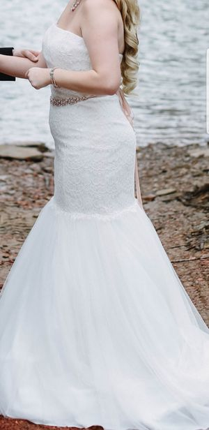 285cb7d80f Wedding Dress David s Bridal for Sale in Trussville