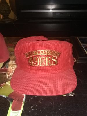 Vintage Courderoy 49er Hat for Sale in Tacoma, WA