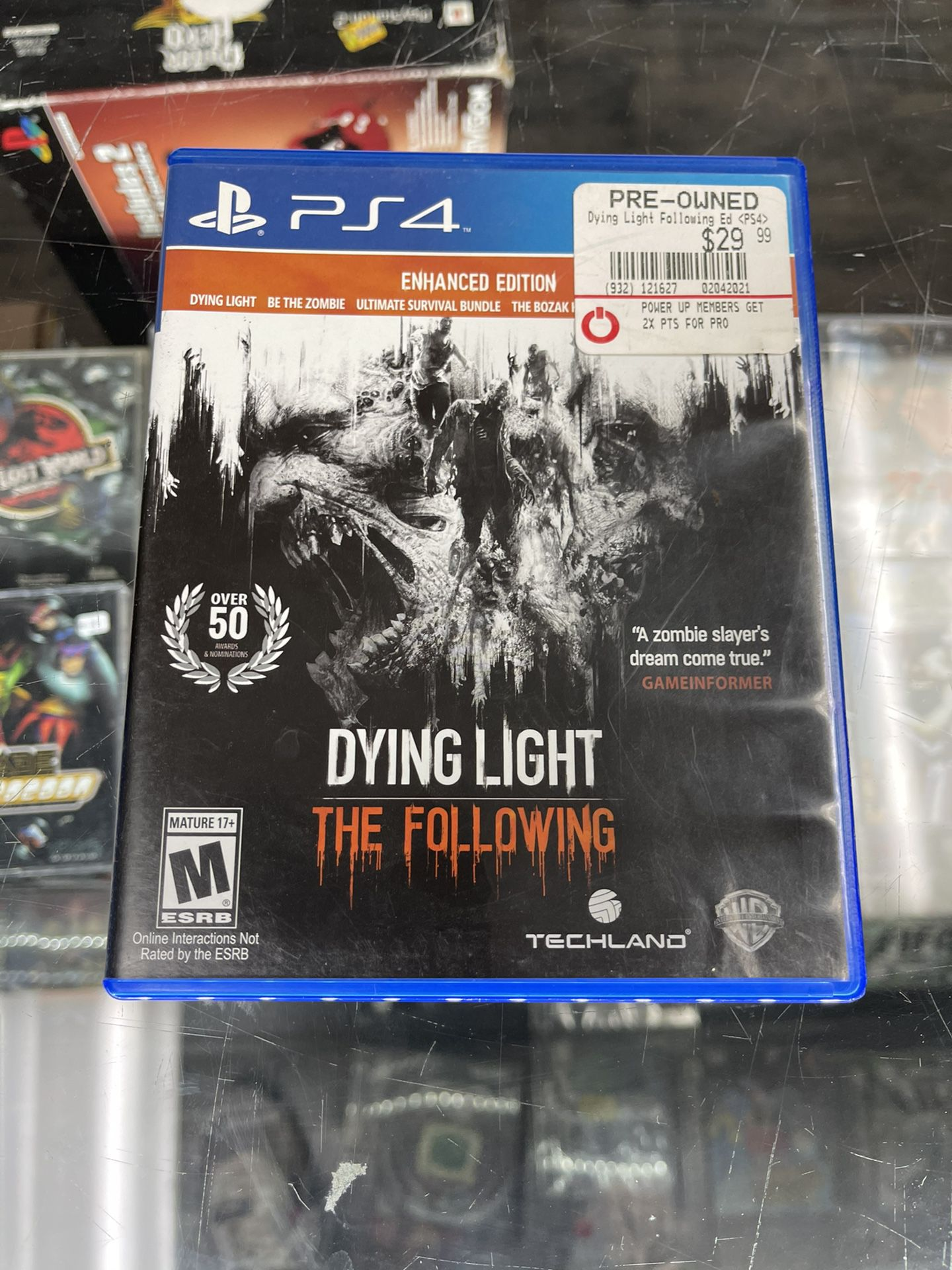 Dying Light Ps4 $25 Gamehogs 11am-7pm