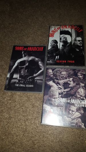 Son's of Anarchy seasons complete for Sale in Chapel Hill, NC