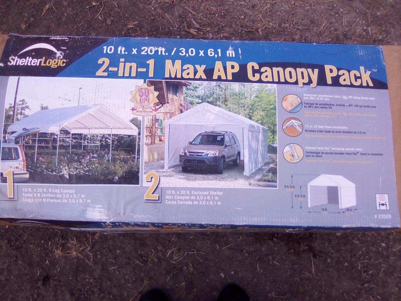 CARPORT METAL WITH TARP