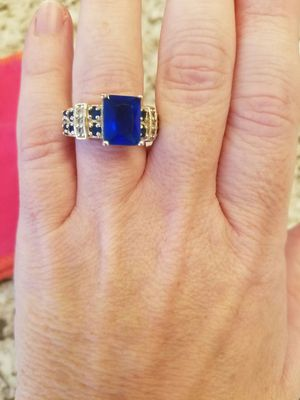 Sapphire ring for Sale in Poulsbo, WA