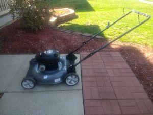 Photo Craftsman push lawn mower