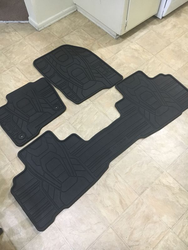 Ford Edge All Weather Floor Mats Auto Parts In Garden Grove Ca Offerup
