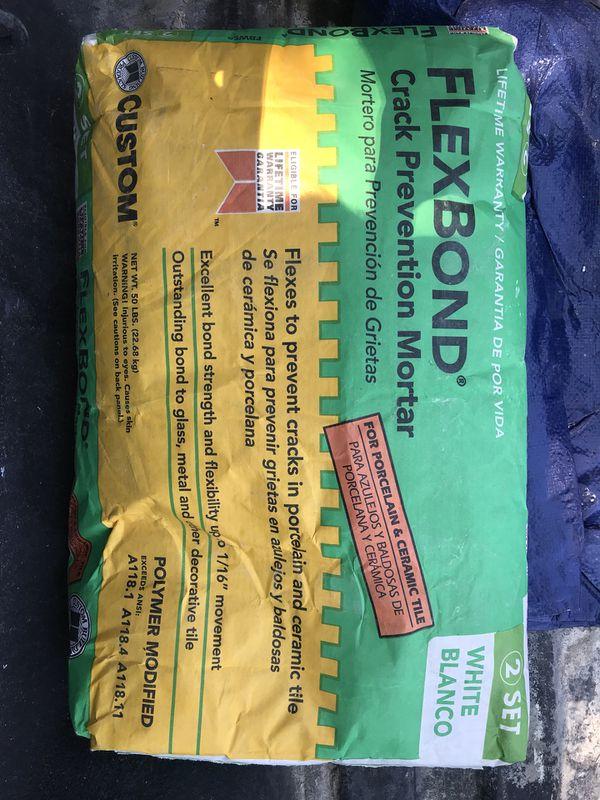Tile Mortar For Sell Best Quality Flex Bond Crack Prevention For