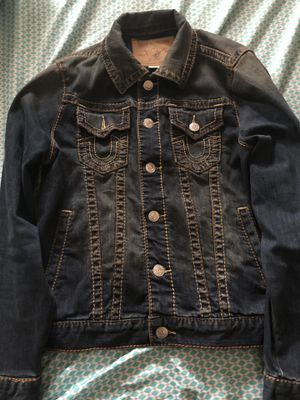 True religion jean jacket for Sale in Arbutus, MD