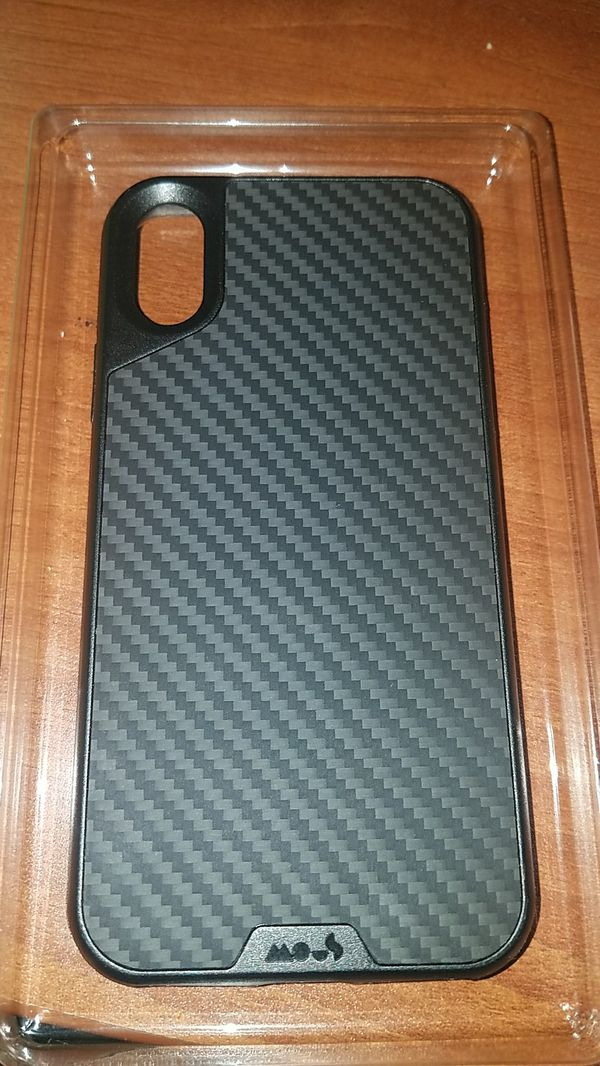 buy popular e0459 fc87b Mous Iphone x protective case made with carbon fiber for Sale in Oakland,  CA - OfferUp