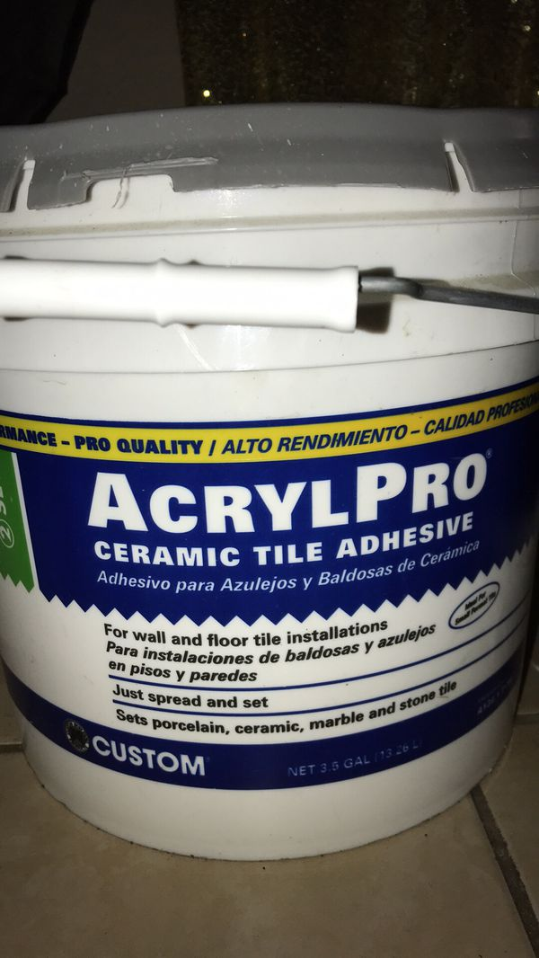 Ceramic Tile Adhesive 1 Gallon Household In New Orleans La Offerup
