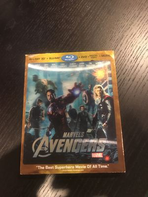 Avengers 3D Blu Ray + Blu Ray for Sale in Seattle, WA