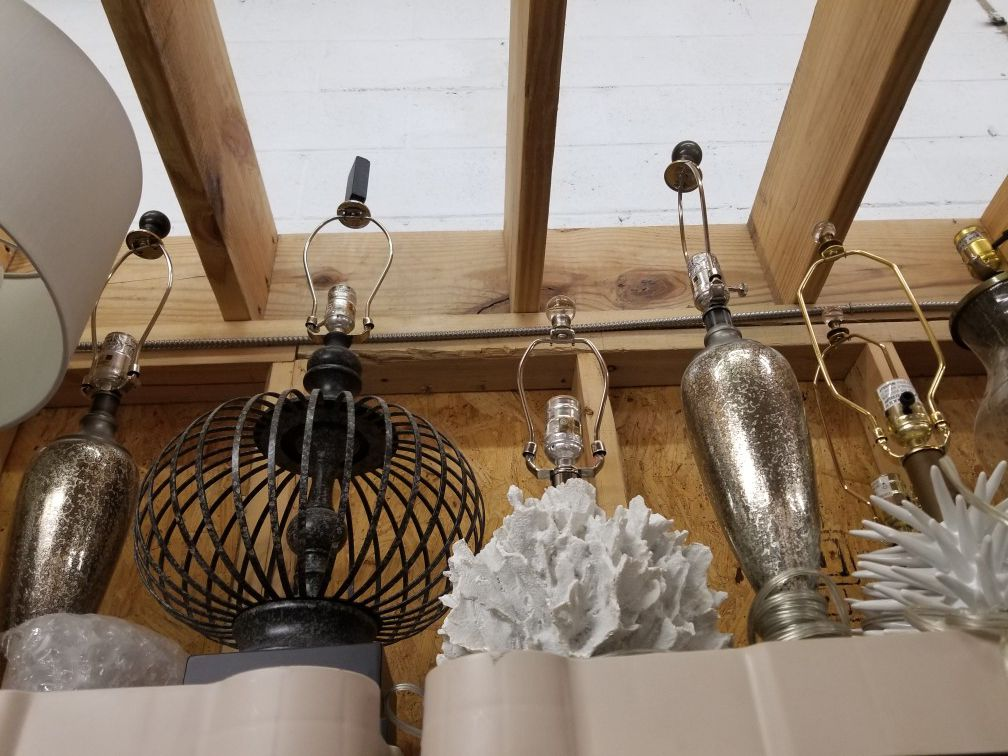 Lamps & Shades- mix and match