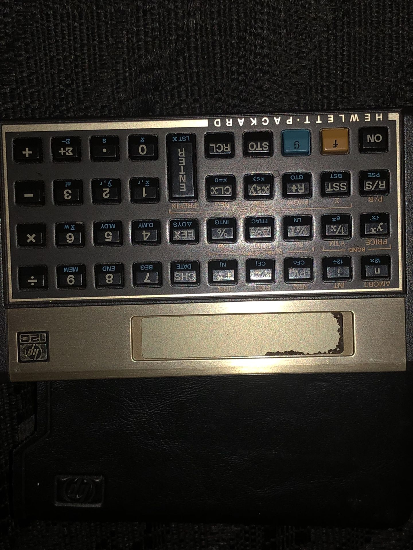 Calculator used to calculate mortgage payments etc.