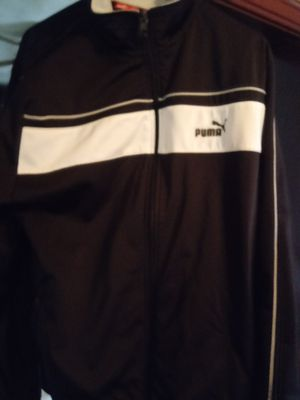 4fe4f15c610c Size xl puma track jacket black for Sale in Erie