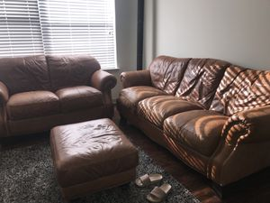 Peachy New And Used Leather Couch For Sale In Charlotte Nc Offerup Evergreenethics Interior Chair Design Evergreenethicsorg