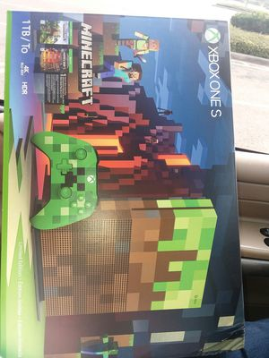 XBOX ONE S 1 TB MINECRAFT LIMITED EDITION for Sale in Puyallup, WA