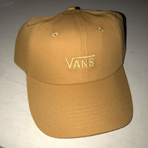 dda00a1468ee2 Mustard yellow vans dad hat for Sale in Westminster