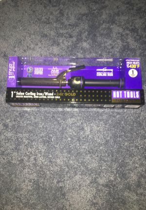 """1"""" Salon Curling Iron/ Wand- 24k Gold for Sale in Silver Spring, MD"""
