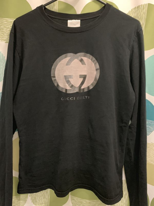 f617a4a0 Gucci Guilty long sleeve shirt medium for Sale in Arlington, TX - OfferUp