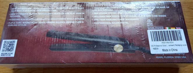HSI Ceramic Flat Iron Thumbnail