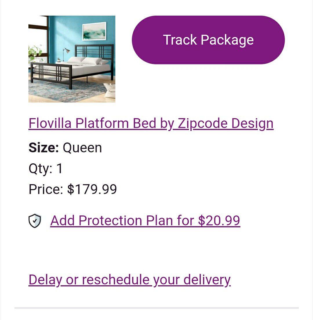 Flovilla Platform Bed from Wayfair
