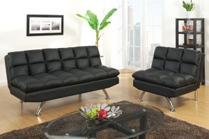Brand New Black Futon Sofa And Love Seat For In Austin Tx