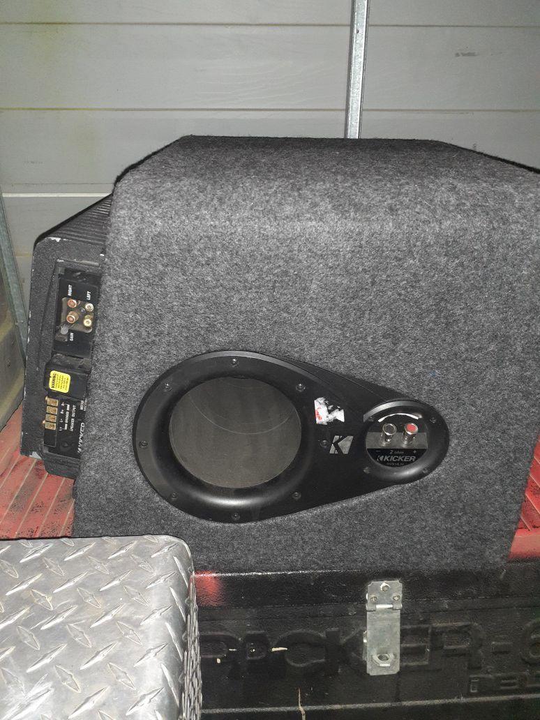Kicker L3 custom kicker ported box huge kicker amplifier $150