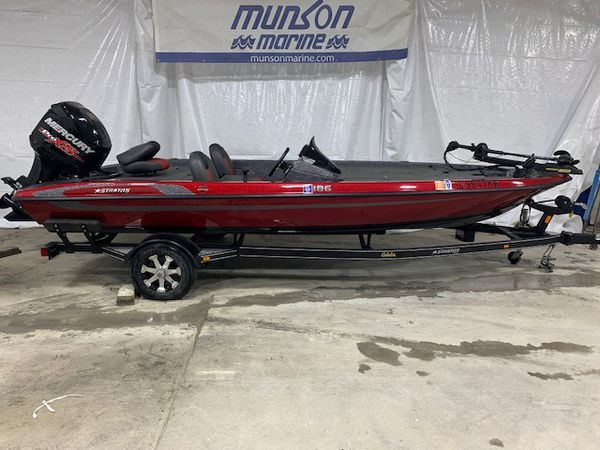 Stratos 186 bass boat 2014