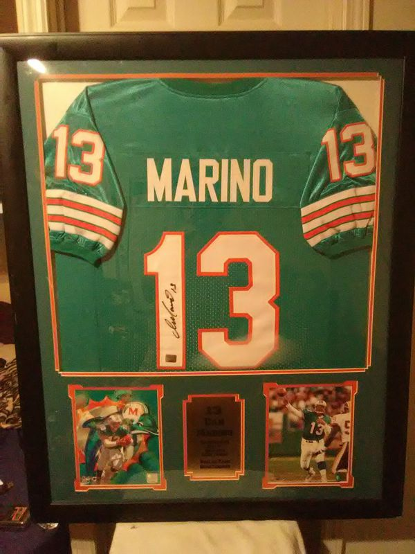 4721f4a87 Dan Marino signed Jersey framed for Sale in Lake Worth