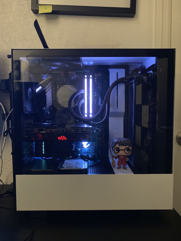 NZXT PC Ryzen 5 2600,Corsair Vengeance RGB PRO 16GB, 250 HD, RX 580,  Corsair HX 1200 for Sale in Miami, FL - OfferUp