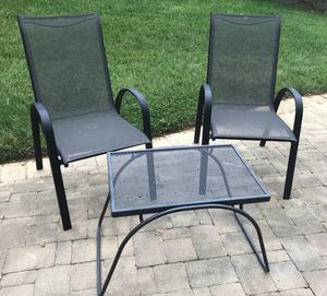 Patio Chairs and Table set for Sale in Vienna, VA