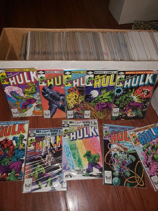 Hulk Comic Longbox For Sale In Milpitas Ca Offerup