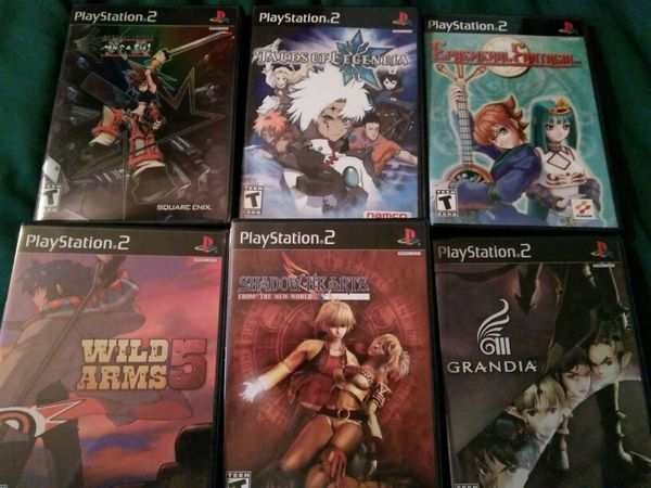 PS2 JRPG collection  for Sale in Chino, CA - OfferUp