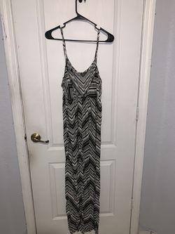 black and white tribal maxi dress - Small Thumbnail