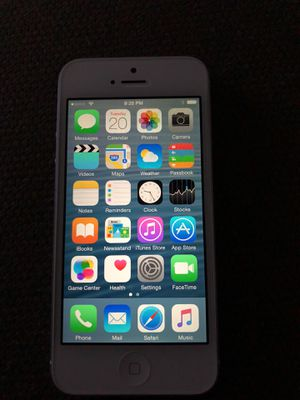 iPhone 5 16GB Sprint (Silver) for Sale in Aspen Hill, MD