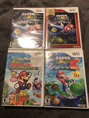 Wii mario for Sale in Round Rock, TX