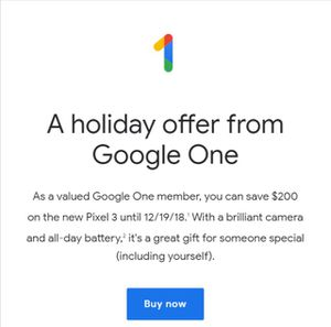WANT $200 google coupon towards Pixel 3 purchase for Sale in Miami, FL