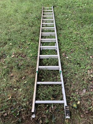 24 foot aluminum ladder for Sale in Washington, DC