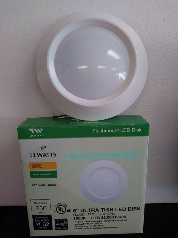 Tw Lighting Flushmount Led Disk 6 11 Watts For In Largo Fl Offerup