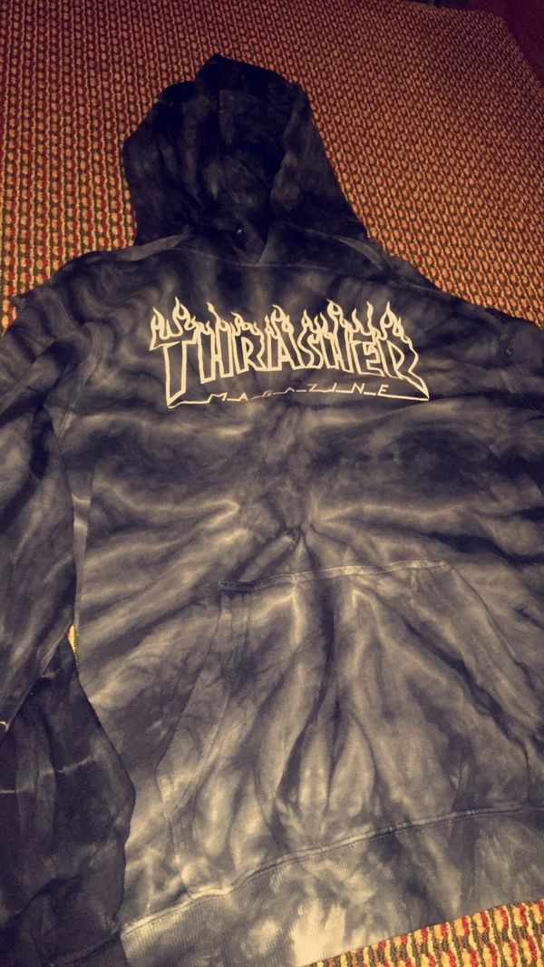 101df4dca493 Silver Flame tie-dye Thrasher hoodie for Sale in Yakima