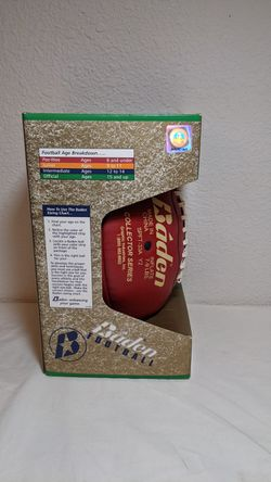 Brian Urlacher Autographed Football with 12 Inch NFL Figure Thumbnail