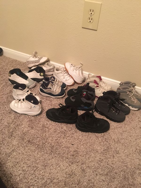 save off f2670 e6887 Toddler kids Jordans 8c for Sale in Katy, TX - OfferUp