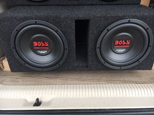 Photo Boss Chaos 10s in ported box NEW