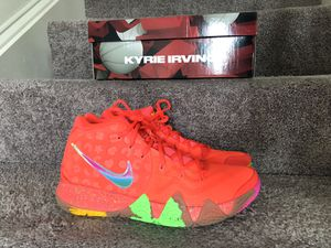 Kyrie 4 lucky charms Sz 10 for Sale in UPR MARLBORO, MD