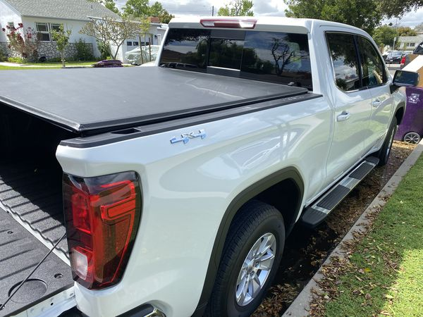 2019-2020 GM Sierra Silverado crew cab short bed folding ... |2020 Gmc Crew Cab Tonneau Cover
