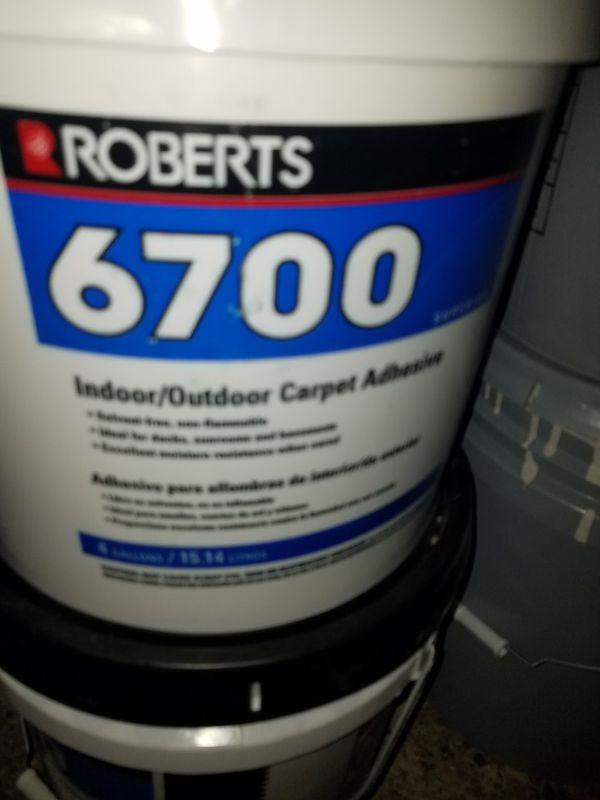 Roberts 6700 Indoor Outdoor Carpet Adhesive Houston