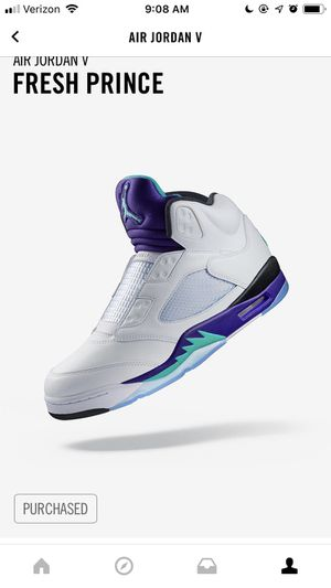 9dff46f224f ... real air jordan v fresh prince new release size 14 for sale in  minneapolis 70987 b5d9a